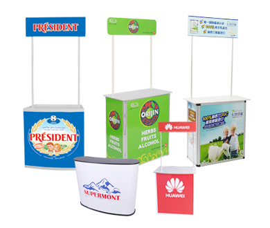 Promotional Counters table china bsdisplays