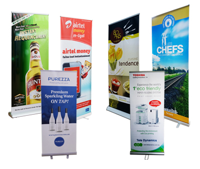 Retractable banners China bsdisplays