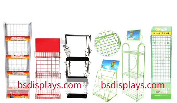 Metal Display Racks in china2